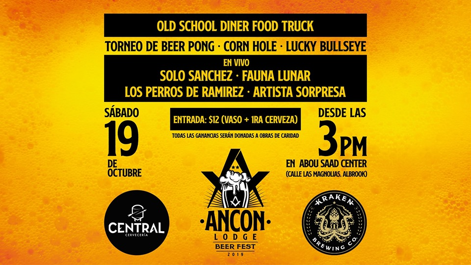 Ancon Lodge Beer Fest 2019