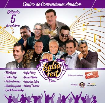 1era Edición Salsa Fest @ Centro de Convenciones Amador
