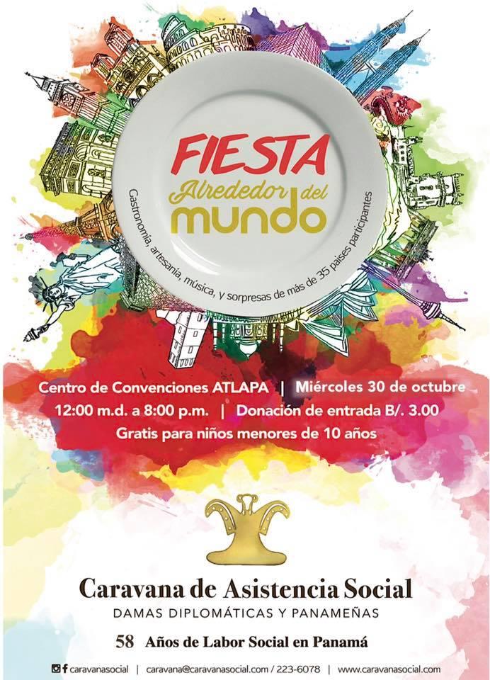 Fiesta Alrededor del Mundo 2019 @ Centro de Convenciones ATLAPA