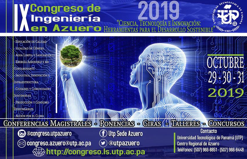 IX Congreso de Ingeniería en Azuero 2019 @ UTP Centro Regional de Azuero
