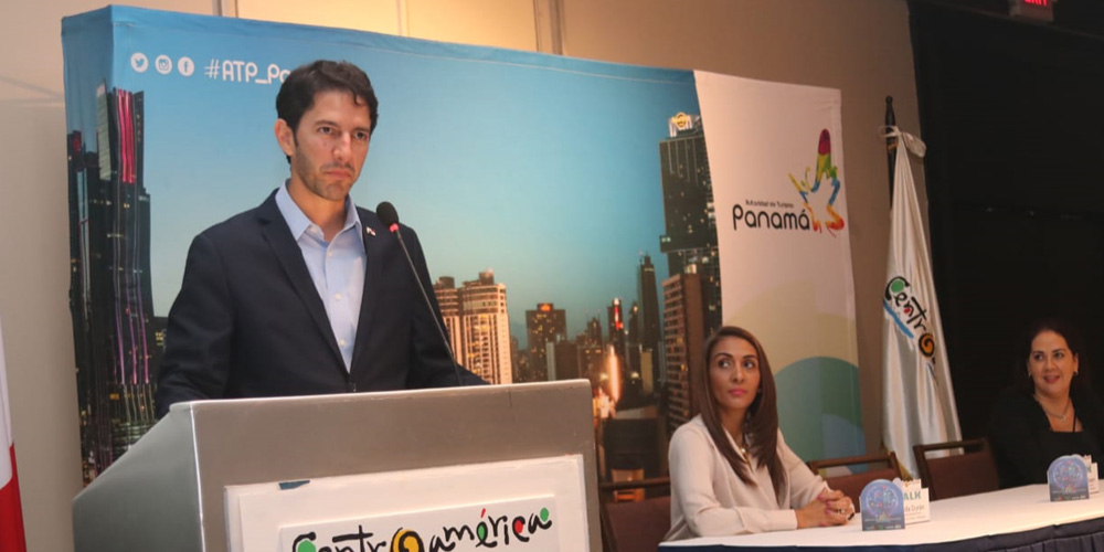 Ministro de Turismo de Panamá Ivan Eskildsen