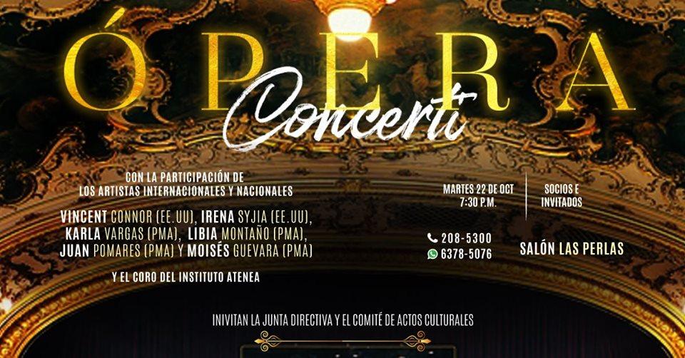 Ópera Concerti 2019 @ Club Union De Paitilla Paitilla, Panamá