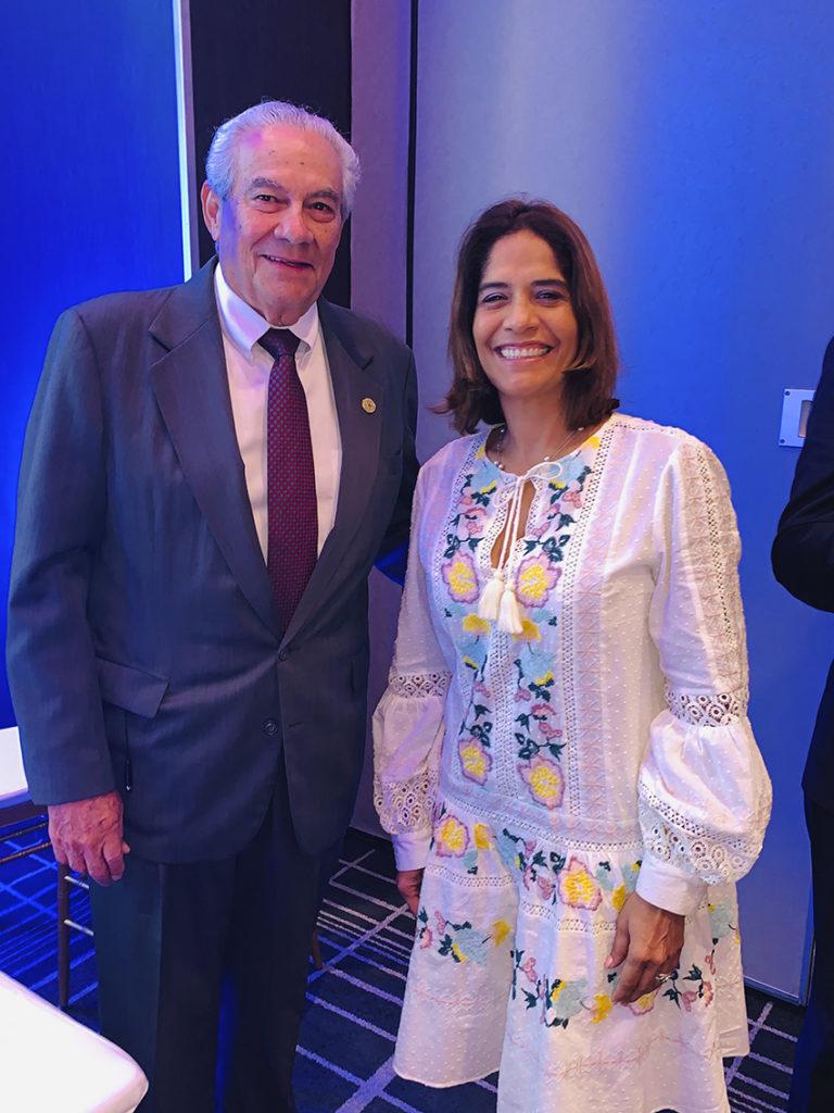 Presidente de CAMTUR y viceministra de la Autoridad de Turismo de Panamá