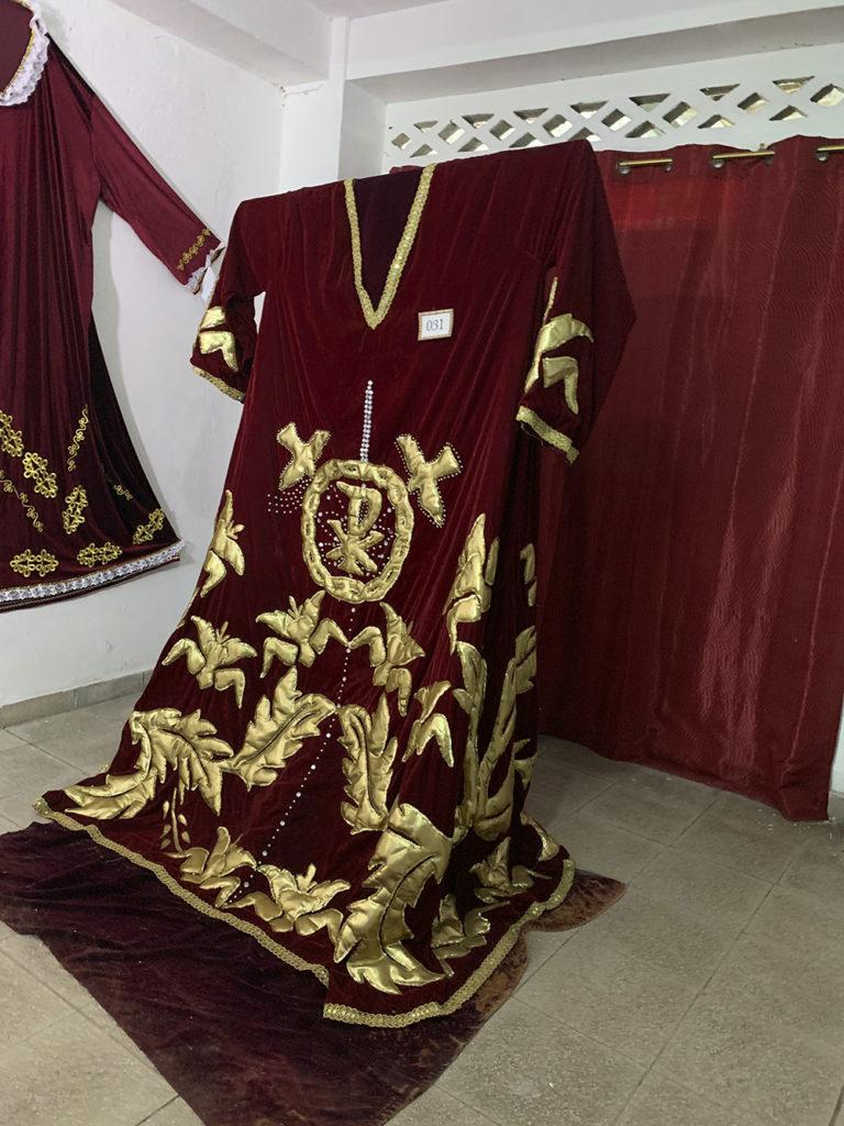 vestido del Cristo Negro