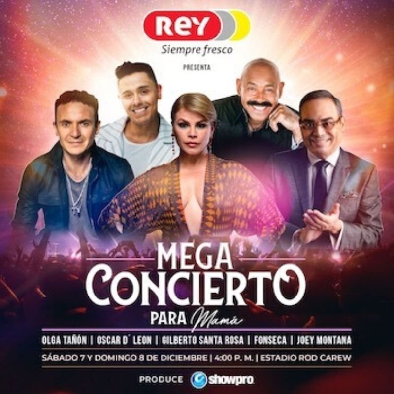 Mega Concierto Para Mamá @ Estadio Nacional Rod Carew