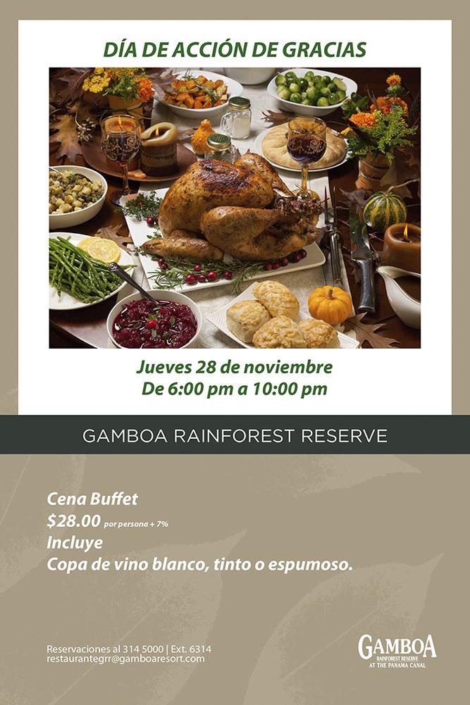 Thanksgiving Gamboa