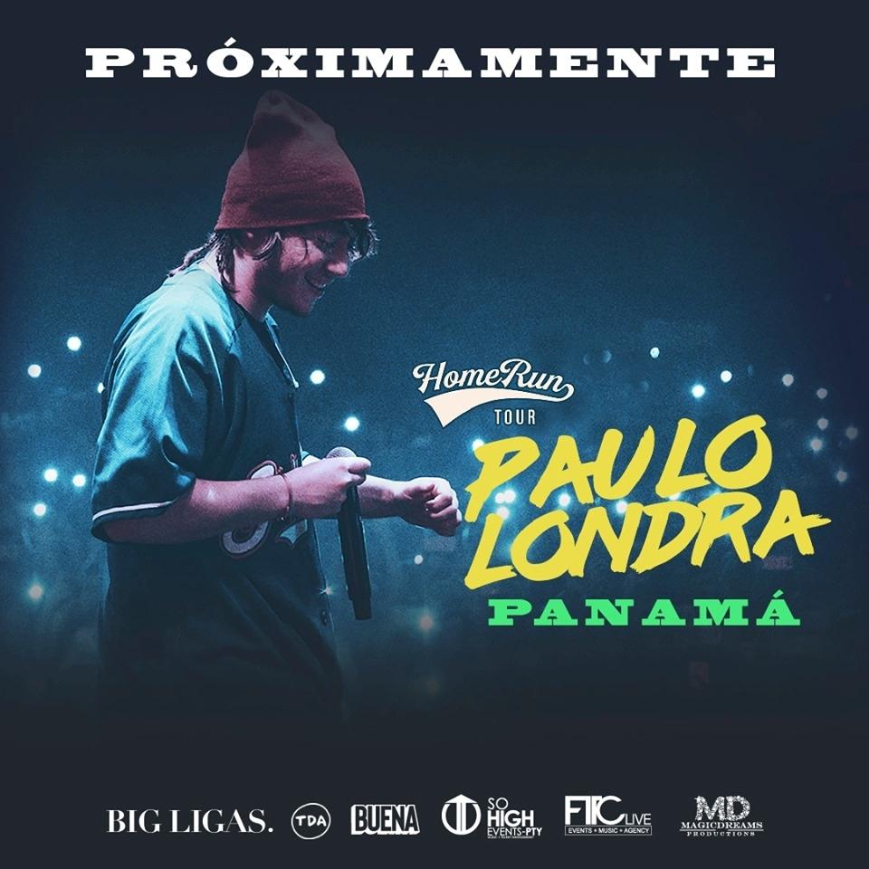 Paulo Londra @ Amador Convention Center ( Viejo Figali / Plaza Figali & Convention Center)