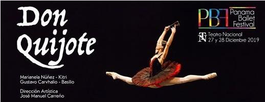 """Panamá Ballet Nacional  """" BALLET DON QUIJOTE"""" @ Teatro Nacional"""