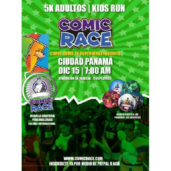 Comic Race 5K @ Cinta Costera, Bella Vista