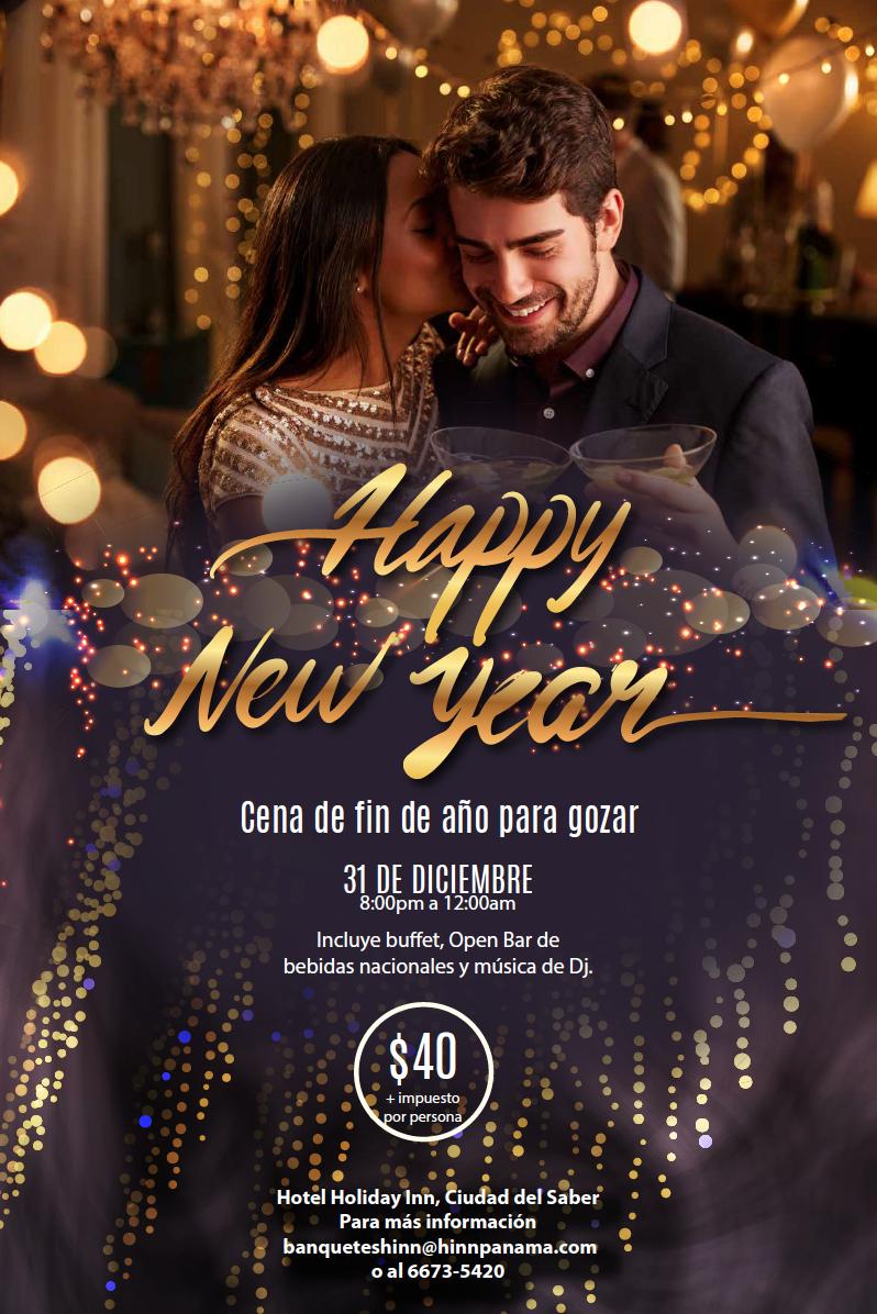Happy New Year @ Hotel Holiday Inn, Ciudad del Saber