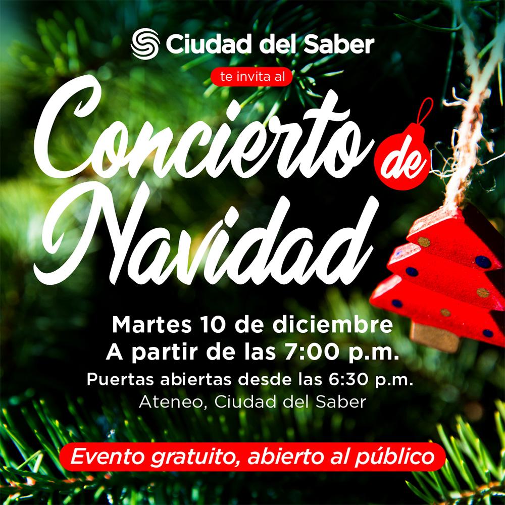 Concierto de Navidad @ Ciudad del Saber,