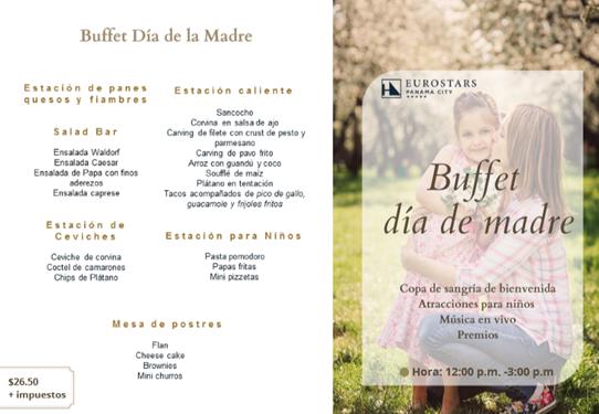 Buffet Día de Madre @ Eurostars Panamá City