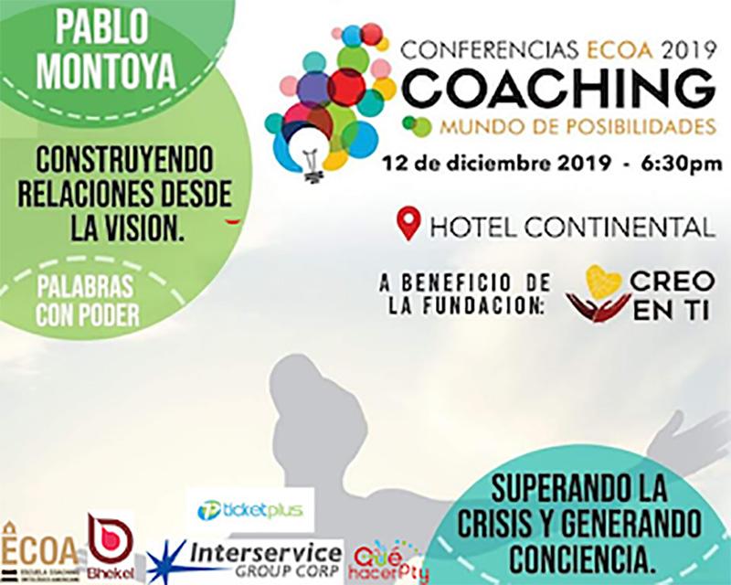 Conferencia de Coaching - Mundo de Posibilidades @ Hotel Continental