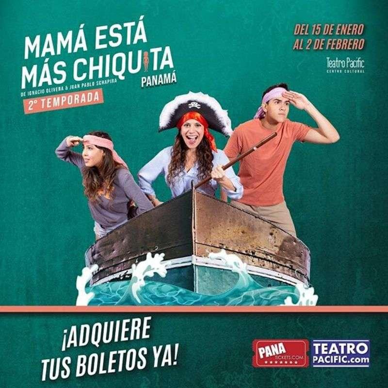 MAMÁ ESTA MAS CHIQUITA @ Teatro Pacific
