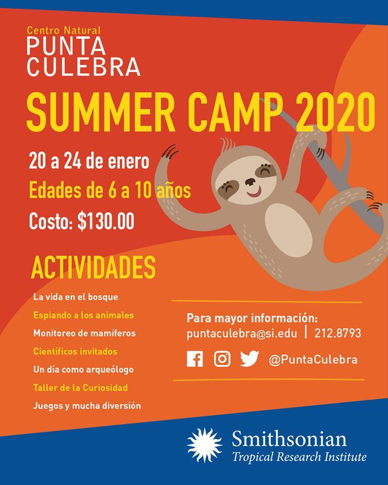 SUMMER CAMP 2020 @ Centro Cultural Punta Culebra