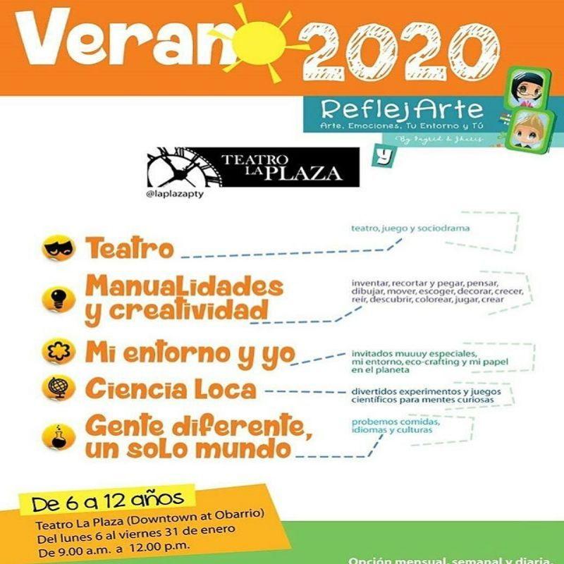 Verano 2020 @ Teatro La Plaza