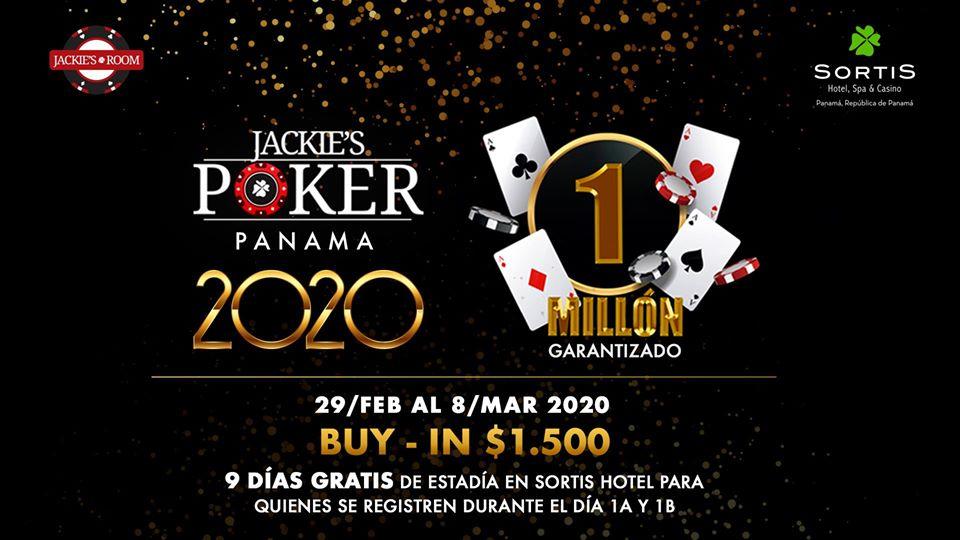 Torneo 1 Millón - Jackies Poker Panamá 2020 @ Sortis Hotel & Casino
