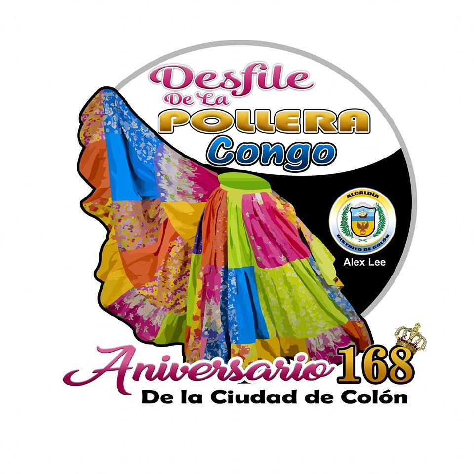 DESFILE DE LA POLLERA CONGO FUNDACIÓN DE COLÓN @ Colón Panamá