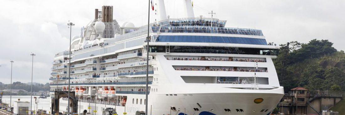 Se espera romper record con el tránsito de cruceros neopanamax para la temporada 2019-2020